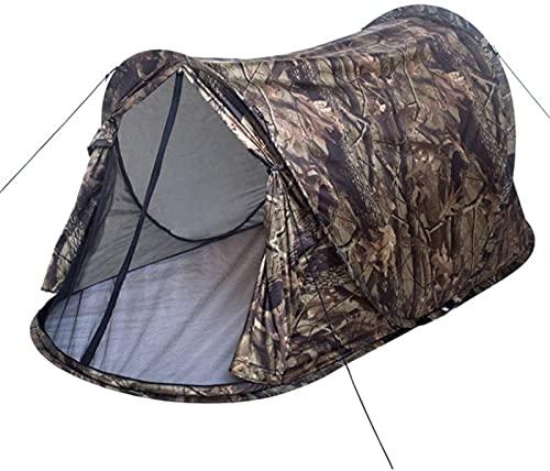 Tiendas de campaña, tienda de campaña de camuflaje individual |Tiendas de campaña automáticas ligeras a prueba de viento impermeables al aire libre |Traje de camuflaje para acampar al aire libre