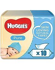 Huggies Pure, 560 Wipes