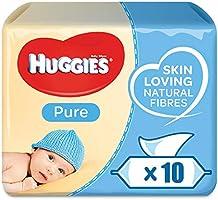 Huggies Pure, 560 Wet Wipes