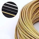 Pastillas de Freno Bicicleta Cable Weaving línea de promoción de tuberías Tubo de velocidad variable Cambio de freno Cable 3m 5mm camino de MTB bicicleta de freno Desviador ( Color : Brake Gold )
