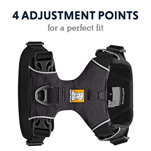RUFFWEAR - Front Range Dog Harness, Reflective and Padded Harness for Training and Everyday Size M (27-32 in/69-81 cm)