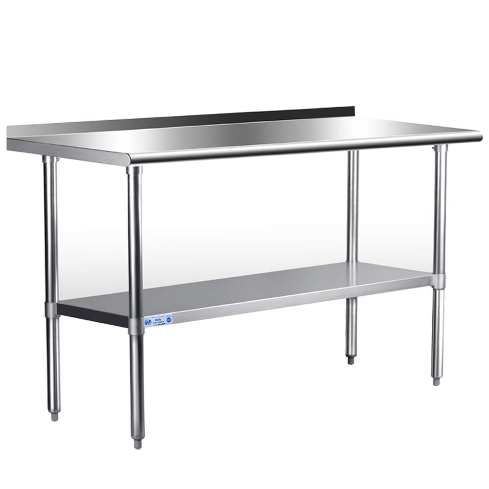 Hally Sinks Tables H Stainless Inventory cleanup selling sale Steel Work 2021 autumn and winter new Table for Prep 24