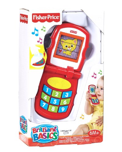 Fisher-Price - K9861 - Mon Premier Téléphone Portable à Clapet
