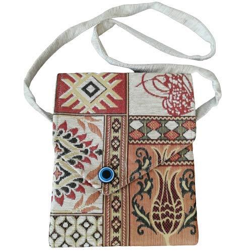 Turkish Kilim Bag, Authentic Carpet Shoulder Bag Bohemian Bag For Women