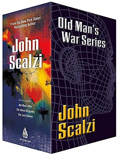 Old Man's War Boxed Set 1: Old Man's War, the Ghost Brigades, the Last Colony