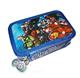 Los Vengadores Avengers–Astuccio 3Zip Avengers PVC Patch + Clamshell, Colore: 0, ast1775
