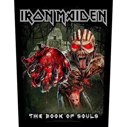 Unbekannt Iron Maiden Eddie's Heart Backpatch/Rückenaufnäher