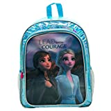 Disney Frozen Mochila, Unisex Adulto, Azul, 33x42x14