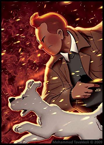Puzzle 1000 piezas Aventuras de niños y perros de dibujos animados clásicos puzzle 1000 piezas educa Rompecabezas de juguete de descompresión intelectual educativo divertido j50x75cm(20x30inch)