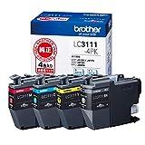 ブラザー インクジェットカートリッジ LC3111-4PK 1パック(4色) LC3111シリーズ