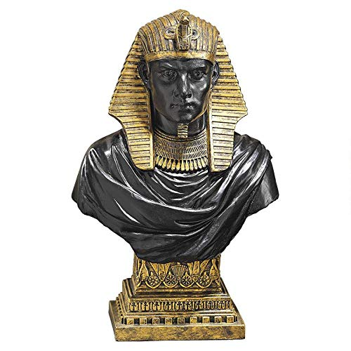 Design Toscano Ägyptischer Pharao Ramses II, Büste