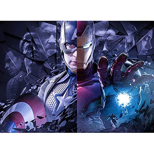 Puzzle Superheroes  marca DJHOLI