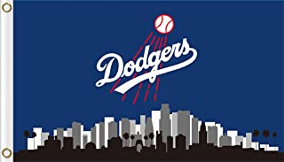 Five Star Flags New Los Angeles Dodgers Flag, Dodgers Flag, Flag for Indoor or Outdoor Use, 100% Polyester, 3 x 5 Feet.