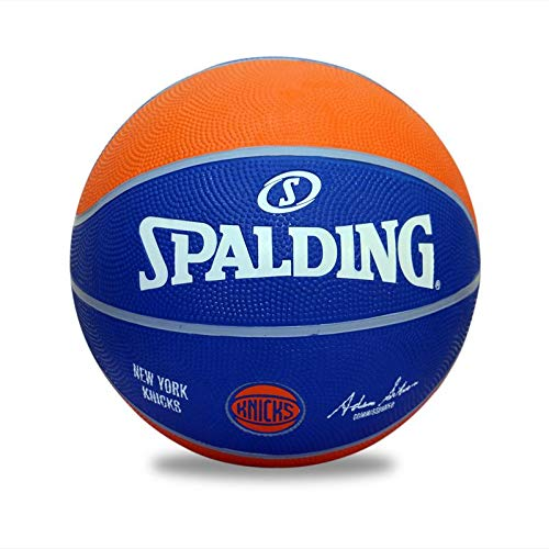 New Spalding BB Team-Knicks-7 Basketball, Size 7 (Multicolour)