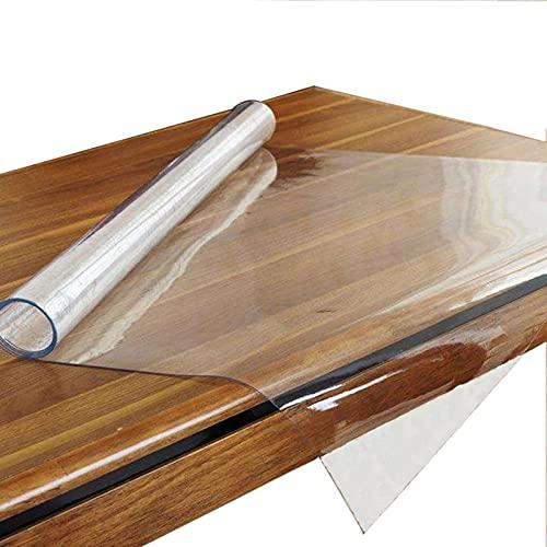 MAOYUAN Protector de Mesa de Comedor de PVC Cubierta de Mesa Mantel Impermeable no encogible de 2 mm (70x70cm)