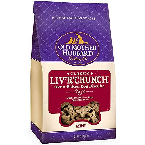 Old Mother Hubbard Crunchy Classic Natural Dog Treats, Liv