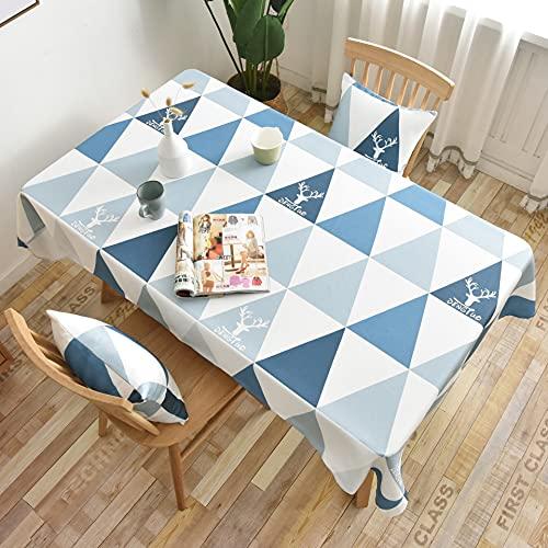 XXDD Mantel Coreano Rectangular Cuadrado Mantel de Cuatro Asientos Mantel de Tela para el hogar decoración de Boda para Fiestas A3 140x180cm