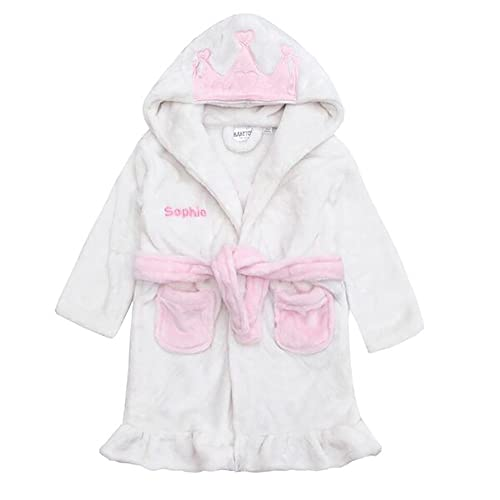 45444998a Personalised Baby Dressing Gown  Amazon.co.uk