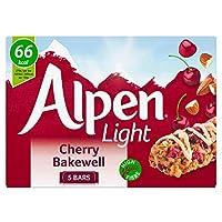 Alpen Light Cherry Bakewell Bars (5x19g) アルペンライトチェリーベイクウェルバー( 5X19G )