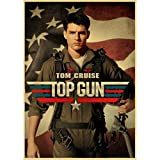 shuimanjinshan TV-Serie Top Gun Retro Poster druckt