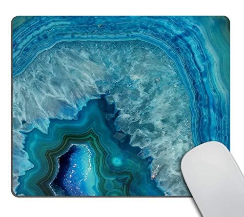 Wasach Bright Aqua - Alfombrilla ratón Piedra Mineral