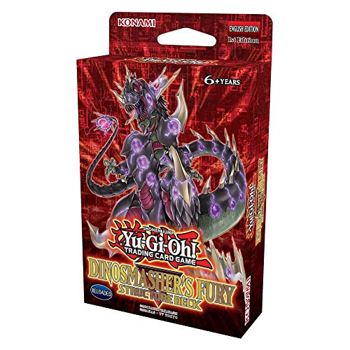 Yu-Gi-Oh DISMRP Dinosmashers Fury Structure Deck-Unlimited E
