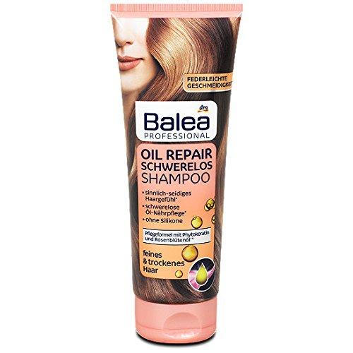 Balea Professional Oil Repair Schwerelos Shampoo, 250 ml