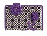 Vera Bradley Frill Collection - Best Bud Wallet - Simply Violet