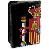 Emblema Nacional de España Funda de Cuero Personalizada para Pasaporte Funda de Cuero Funda de Viaje