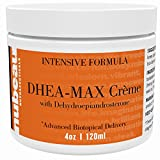 DHEA Cream for Men and Women, Unscented, 2 Month Supply