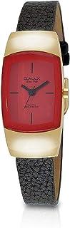 ساعة نساء من اوماكس, جلد, انالوج بعقارب, OMCT7756QR86