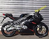 Carenatura Moto Nera RS125 Per Aprilia RS-125 2006-2011 RS125 R S 125 07 08 09 10 11 Carrozzeria Aftermarket Kit Carrozzeria RS 125 (a iniezione)