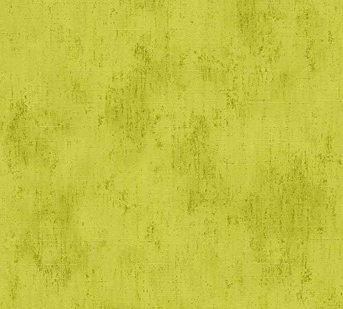 Metropolis by Michalsky Living Vliestapete South Beach Tapete Unitapete 10,05 m x 0,53 m grün Made in Germany 304573 30457-3