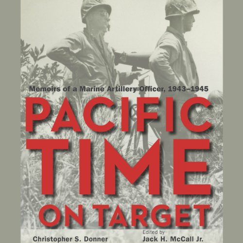 Pacific Time on Target audiobook cover art
