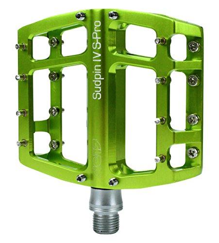 NC-17 Sudpin IV S-Pro CNC Alu Fahrrad Plattform Pedal grün