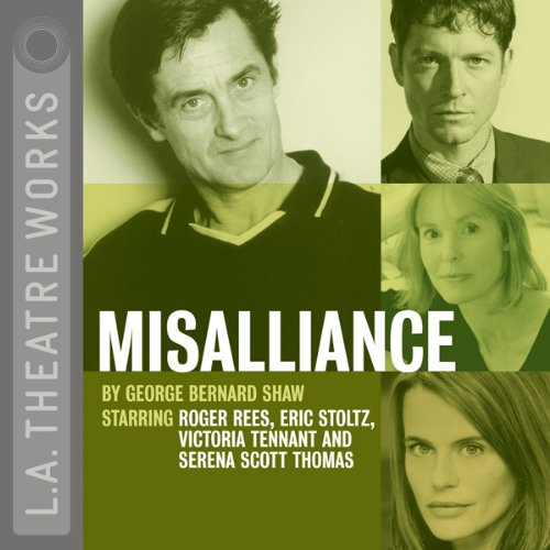 Misalliance audiobook cover art