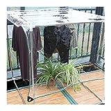 SHIJINHAO Lonas Impermeables Exterior Lona Transparente Fuerte Deber A Prueba De Agua Pesada, Cubierta Hoja De Lona Clara Hecha De 300 G / M2 De Hoja De PVC, 22 Tamaños