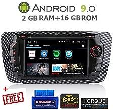gümü-px5proat10-autoradio Seat Ibiza Android 8.0Octa Core + 4GB RAM + 32GB ROM Navegación GPS, Pantalla táctil de 7Pulgadas, Soporte WiFi, Bluetooth, Puerto USB