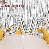 Alles Gute zum Geburtstag Banner Bollons | Liebesbrief-Folienballon Glückliche Hochzeit...