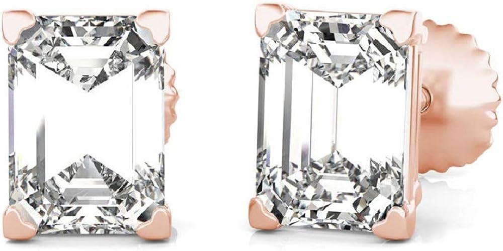 Heart Shape Prong Emerald Cut Weekly update D Diamond Party Fancy So Ranking TOP4 VVS1 Wear