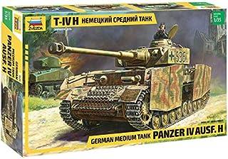 Zvezda 1/35 Zvezda No.3620 German Medium Tank Panzer IV Ausf.H