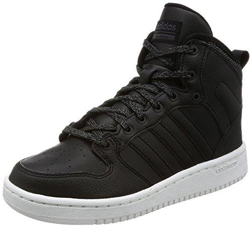 adidas CF Hoops Mid WTR W, Sneaker a Collo Alto Donna, Nero (Core Black/Utility Black), 36 EU