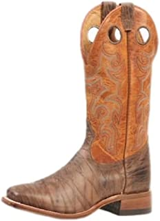 American Boots - Extra Light Cowboy Boots BO-4746-65-EEE (Strong Foot) - Men - Brown