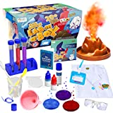 Learn & Climb Kids Science Kit with Lab Coat - Over 20 Science Experiments. Ages 5+