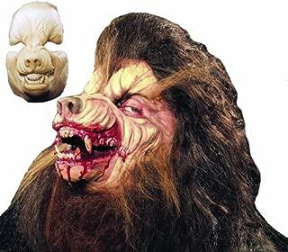 Halloween FX Prosthetic Werewolf Full Face