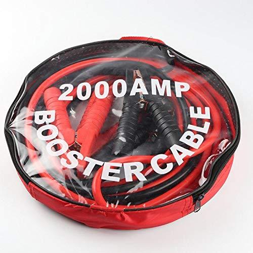 Lianlili Nuevo 2000AMP Cable AUTOMÓVIL AUTOMÁTICO Cable TERRANTE PEQUEÑO Cable DE JUNGO DE Jumper DE Emergencia Potencia DE EMPARTENCIA Carro DE BATERÍA BATERIAL Cordo DE Cobre (Color : 4 M)