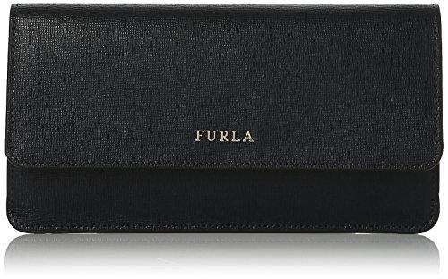 FURLA Babylon Xl Bifold - Portafogli Donna, Nero (Onyx), 1x10x19 cm (B x H T)