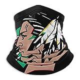 XXUU Fighting Sioux Neck Polaina Tubo Máscara para la cabeza, Máscara facial para motocicleta Pañuel...