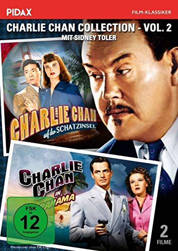 Charlie Chan Collection - Vol. 2 / (Charlie Chan auf der Schatzinsel + Charlie Chan in Panama) (Pidax Film-Klassiker)