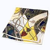 100% silk scarf Silk Scarves, Chinese Silk, Small Square Scarf